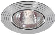 Встраиваемый светильник Novotech Antic 369431, хром