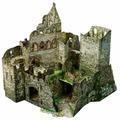 Сборная модель Умная Бумага Руины замка (479)
