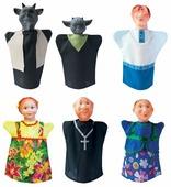 Русский стиль Кукольный театр Сказка о попе и его работнике Балде, 11227
