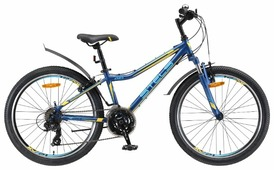 Подростковый горный (MTB) велосипед STELS Navigator 410 V 24 21-sp V010 (2019)
