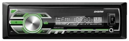 Автомагнитола Digma DCR-420G