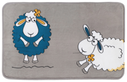 Коврик Tatkraft Funny Sheep, 50x80 см
