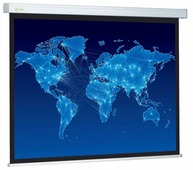 Рулонный матовый белый экран cactus Wallscreen CS-PSW-150x150