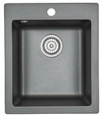 Врезная кухонная мойка Granula 4201 41.5х49см искусственный гранит