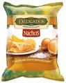 Чипсы Delicados Nachos кукурузные с кусочками лука и морской солью