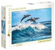 Пазл Clementoni High Quality Collection Дельфины (35055), 500 дет.
