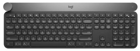 Клавиатура Logitech Craft Advanced keyboard Grey Bluetooth
