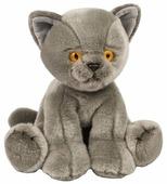 Мягкая игрушка Maxitoys Котик серый 30 см