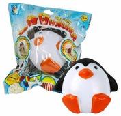 Игрушка-мялка 1 TOY Сидящий пингвин Т12420