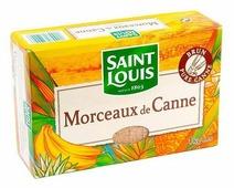 Сахар Saint Louis Тростниковый коричневый кусковой