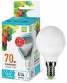 Лампа светодиодная ASD LED-ШАР-STD 3000K, E14, G45, 7.5Вт