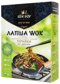 Лапша Sen Soy Wok Пшеничная с соусом терияки по-японски 275 г