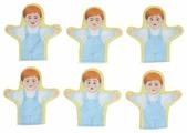Наивный мир Набор кукол рукавичек Эмоции мальчики 6шт (011.61)