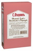 С.Пудовъ Смесь для выпечки хлеба Овсяный хлеб с яблоками и корицей, 0.5 кг