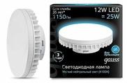 Лампа светодиодная gauss 131016212, GX70, GX70, 12Вт