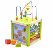 Сортер Мир деревянных игрушек Универсальный куб