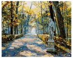 "Белоснежка Картина по номерам ""Летний сад. ""Ночь"" 40х50 см (024-AB)"