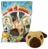 Игрушка-мялка 1 TOY Мопсик Т12433