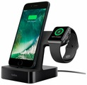 Док-станция универсальная Belkin PowerHouse Charge Dock for Apple Watch + iPhone