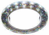 Встраиваемый светильник Ambrella light G250 W/CH/WH, белый/серебро