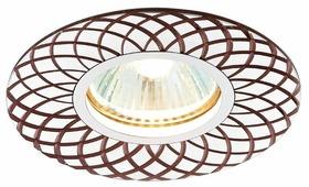 Встраиваемый светильник Ambrella light A815 AL/BR, алюминий/коричневый