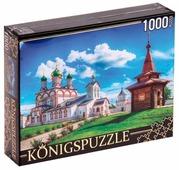 Пазл Рыжий кот Konigspuzzle Россия - Ростов великий (ГИК1000-6518), 1000 дет.