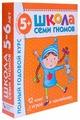 """Денисова Д. """"Школа Семи Гномов 5-6 лет. Полный годовой курс"""""""