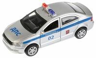 Легковой автомобиль ТЕХНОПАРК Volkswagen Polo Полиция (POLO-P) 12 см
