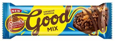 Батончик Россия - Щедрая душа! Good Mix Заводной Шоколад, 33 г, коробка