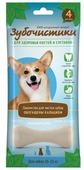 Лакомство для собак Зубочистики с кальцием для средних пород