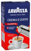 Кофе молотый Lavazza Crema e Gusto вакуумная упаковка