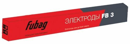 Электроды для ручной дуговой сварки Fubag FB3 4мм 0.9кг