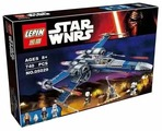 Конструктор Lepin Star Wnrs 05029 Истребитель X-Wing сопротивления