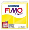 Полимерная глина FIMO Soft запекаемая лимонный (8020-10), 57 г