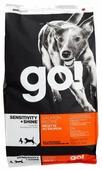 Корм для собак GO! Sensitivity + Shine лосось