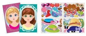 Игровой набор Десятое королевство Магнитные истории - Модная девчонка 01937