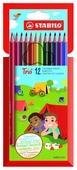 STABILO Цветные карандаши Trio 12 цветов (1960/12-01)