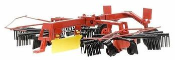 Прицеп Siku для игрушечного трактора Fella Рыхлитель (2451) 1:32
