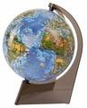 Глобус Глобусный мир Земли для детей 210mm на треугольной подставке с подсветкой 10292