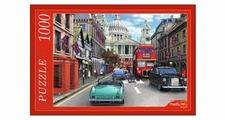 Пазл Рыжий кот Лондон Собор св. Павла (МГ1000-7354), 1000 дет.