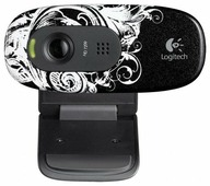 Web-камеры Logitech HD Webcam C270 черный [960-001063]