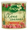 ПЛЕЗА Каша льняная с сублимированной малиной, 400 г