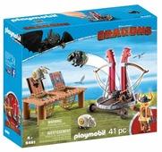 Набор с элементами конструктора Playmobil Dragons 9461 Плевака и Вепр