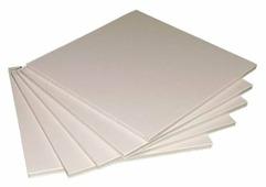 Цветной картон пенокартон 5 мм, 640 гр/м2 Decoriton, 50х65 см, 5 л.