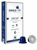 Single Cup Coffee Кофе в капсулах Single Cup Decaf (10 шт.)