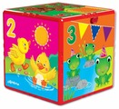 Интерактивная развивающая игрушка Азбукварик Говорящий кубик. Счёт, формы, цвета