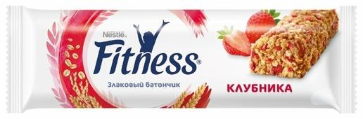 Злаковый батончик Nestle Fitness Клубника, 23.5 г