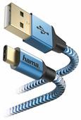 Кабель HAMA USB - USB Type-C Reflective 1.5 м