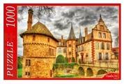 Пазл Рыжий кот Замок под хмурым небом (КБ1000-6899), 1000 дет.