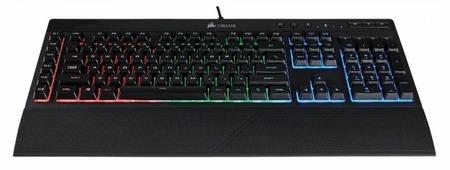 Клавиатура Corsair Keyboard K55 RGB LED Black USB